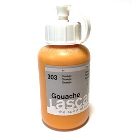Lascaux Gouache, 303 Orange, 85ml