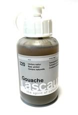 Lascaux Gouache, 320 Raw Umber, 85ml