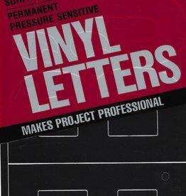 Duro Vinyl Set, Medium Helvetica