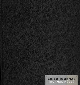 "Canson, Lined Black Journal, 8.5"" x 11"", 160 pages"