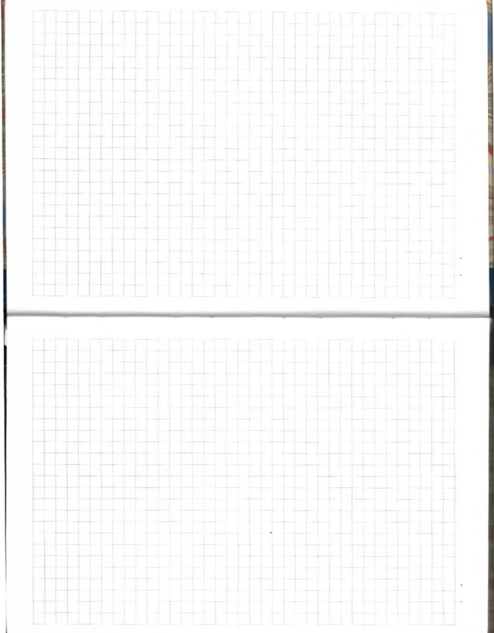 "Journal with Grid, Dot Grid, Blank Pages, 5.75"" x 8.5"" Marbled Cover"