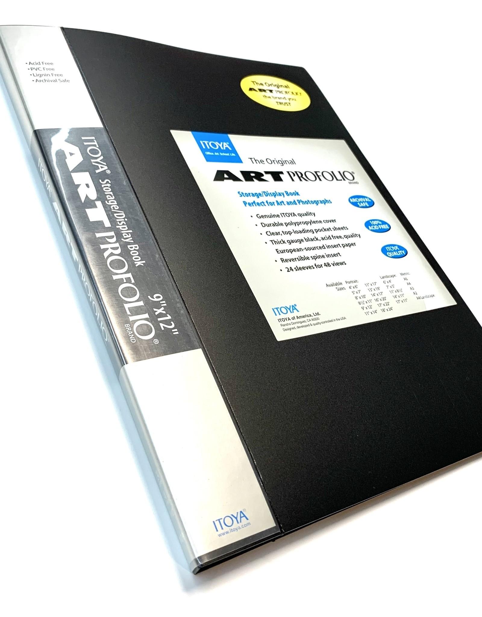 """Itoya, Art Portfolio, Presentation Book, 9"""" x 12"""""""