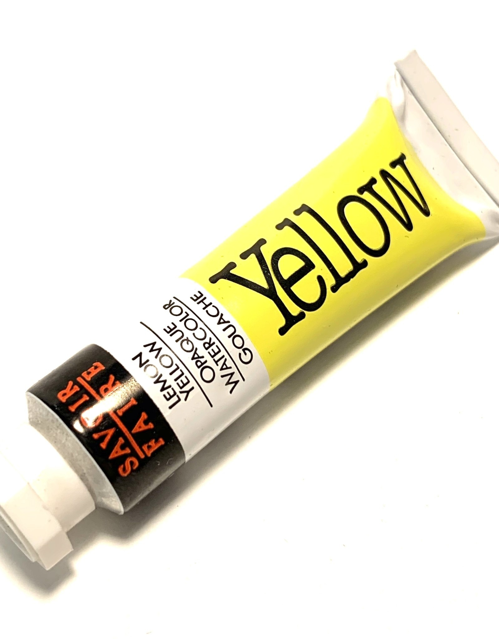 Opaque Watercolor Gouache, Lemon Yellow, 10ml Tube