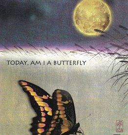 """Brush Dance, Blank Card 4.75"""" x 6.75"""", Last night I dreamed I was a Butterfly"""