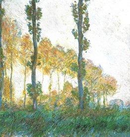 "Galison Art Card, Blank Card 5"" x 6.75"", Monet, The Three Trees"