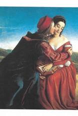 "Galison Art Card, Blank Card 5"" x 6.75"", Dyce, Francesca da Rimini"