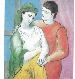 "Galison Art Card, Blank Card 5"" x 6.75"", Picasso, The Lovers"