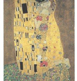 "Galison Art Card, Blank Card 5"" x 6.75"", Klimt, The Kiss"