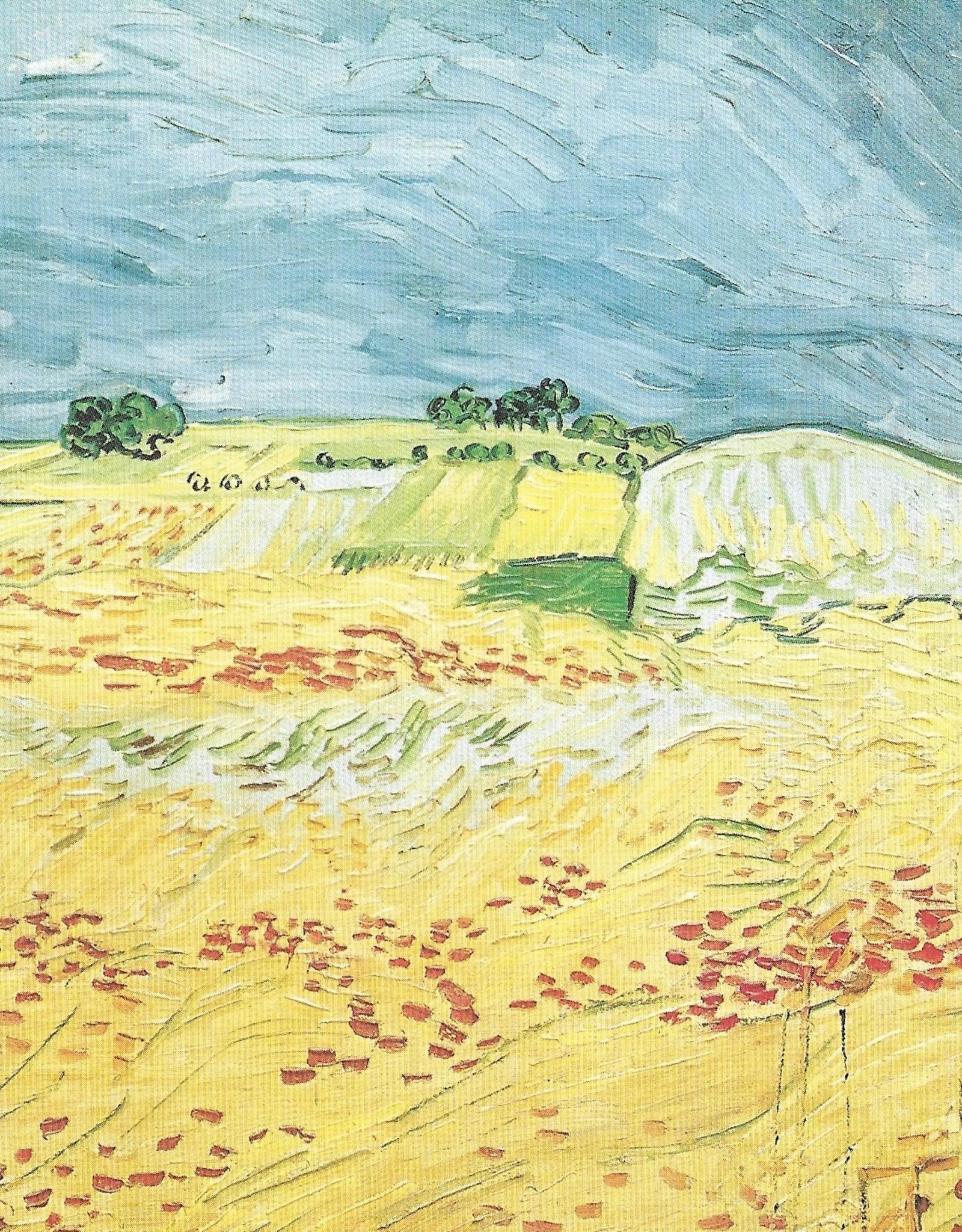 "Galison Art Card, Blank Card 5"" x 6.75"", Van Gogh, The Plain at Auvers"