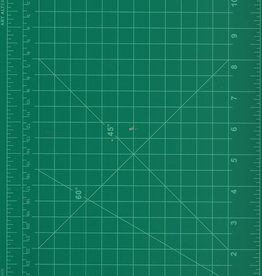 "Cutting Mat 9"" X 12"", Double Sided: Green, Black"