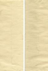 Awagami, Sand Beige Ogura, 5 Envelopes, C6 Size