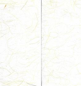 Dolphin Papers Awagami, White Ogura, 5 Envelopes, C6 Size