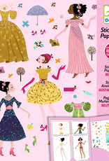 Djeco Stickers & Paper Dolls, Dresses Through the Seasons