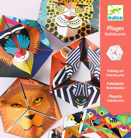 "Djeco Origami Flexanimals, 7.8"" x 7.8"", 4 Sheets"