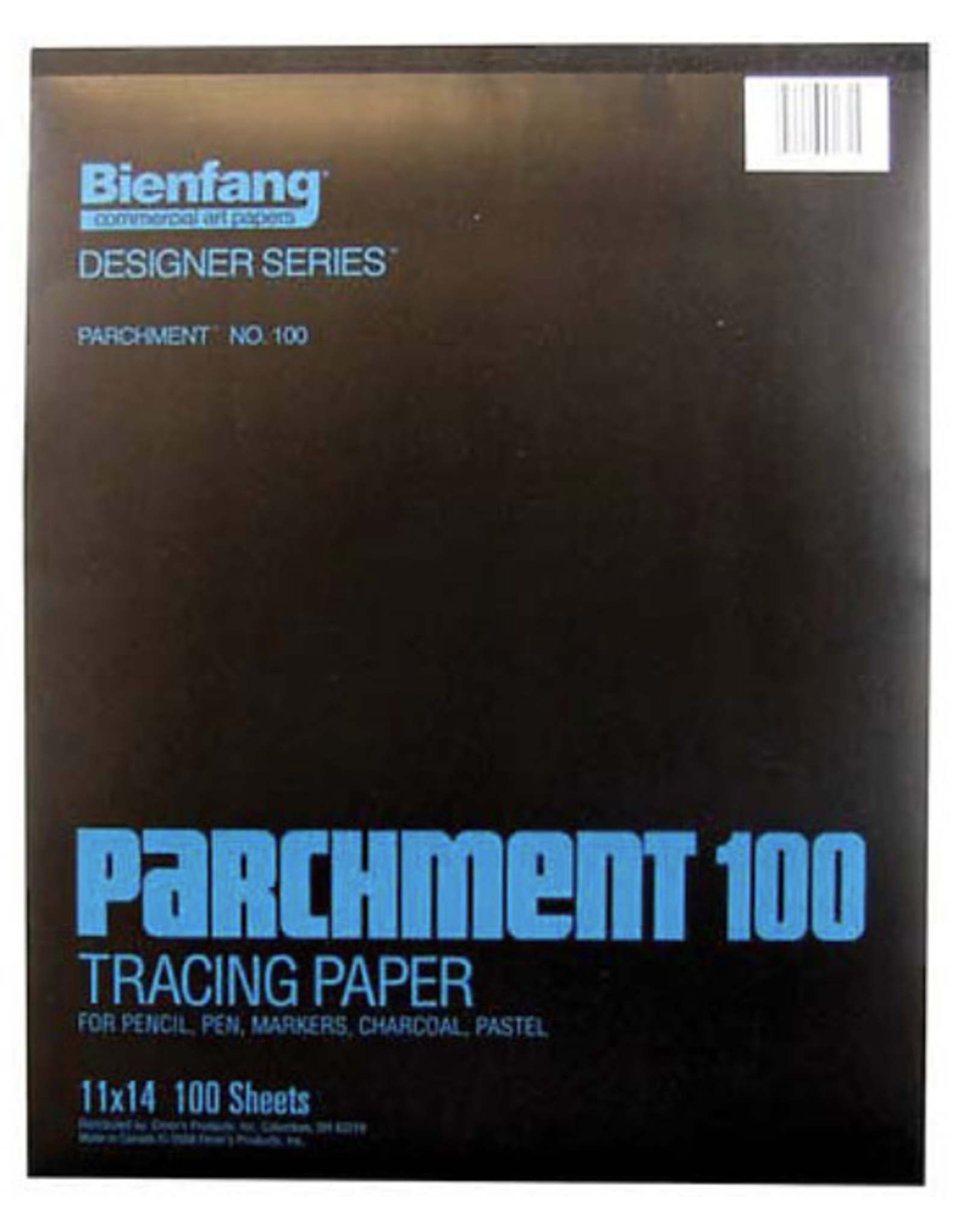 "Bienfang, Parchment 100 Tracing Paper, Pads 50 Sheets, 19"" x 24"""