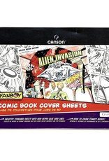 """Canson, Fanboy, Comic Book Cover Sheets, 150lb/250gm, 11"""" x 17"""", 12 Sheets"""