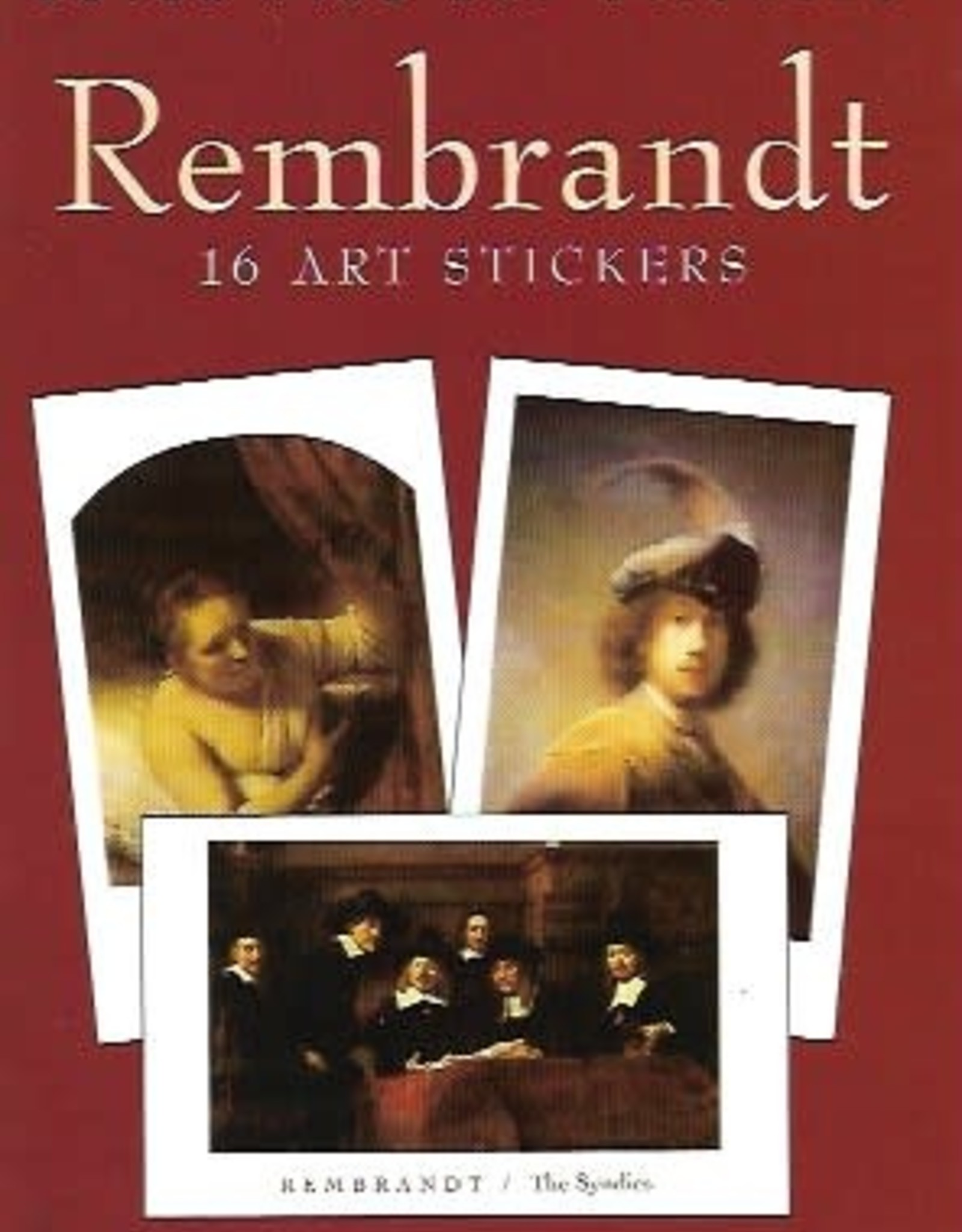 Rembrandt, 16 Art Stickers