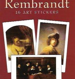 Rembrandt, 16 Art Stickers