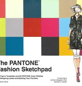 "The Pantone Fashion Sketchpad, 132page Book, 8.5"" x 11.7"""