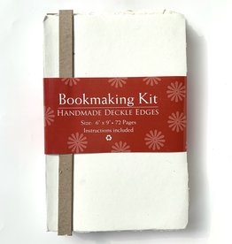 "Bookmaking Kit, 6"" x 9"", 72 Ivory Pages"