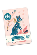 """Djeco Sticker Notebook with 146 Stickers, Lucille Design, 4.3"""" x 6.1"""""""