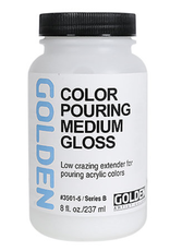 Golden, Color Pouring Medium, Gloss, 8oz