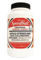 Speedball, Permanent Acrylic Extender Base, Quart Jar