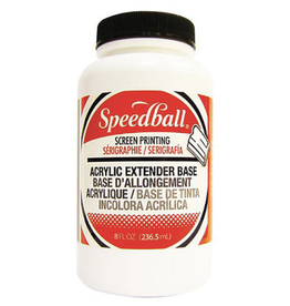 Speedball, Permanent Acrylic Extender Base, Quart Jar