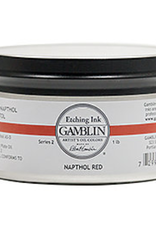 Gamblin, Etching Ink, Portland Black, 1lb Jar