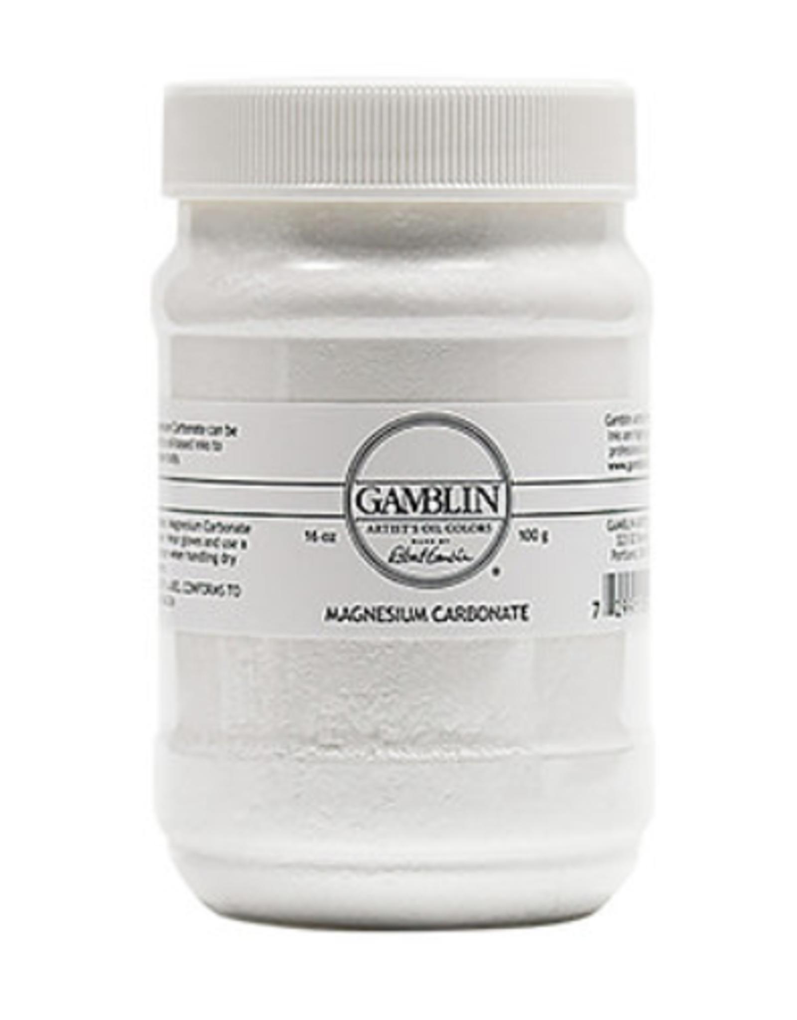 Gamblin, Magnesium Carbonate, 16oz