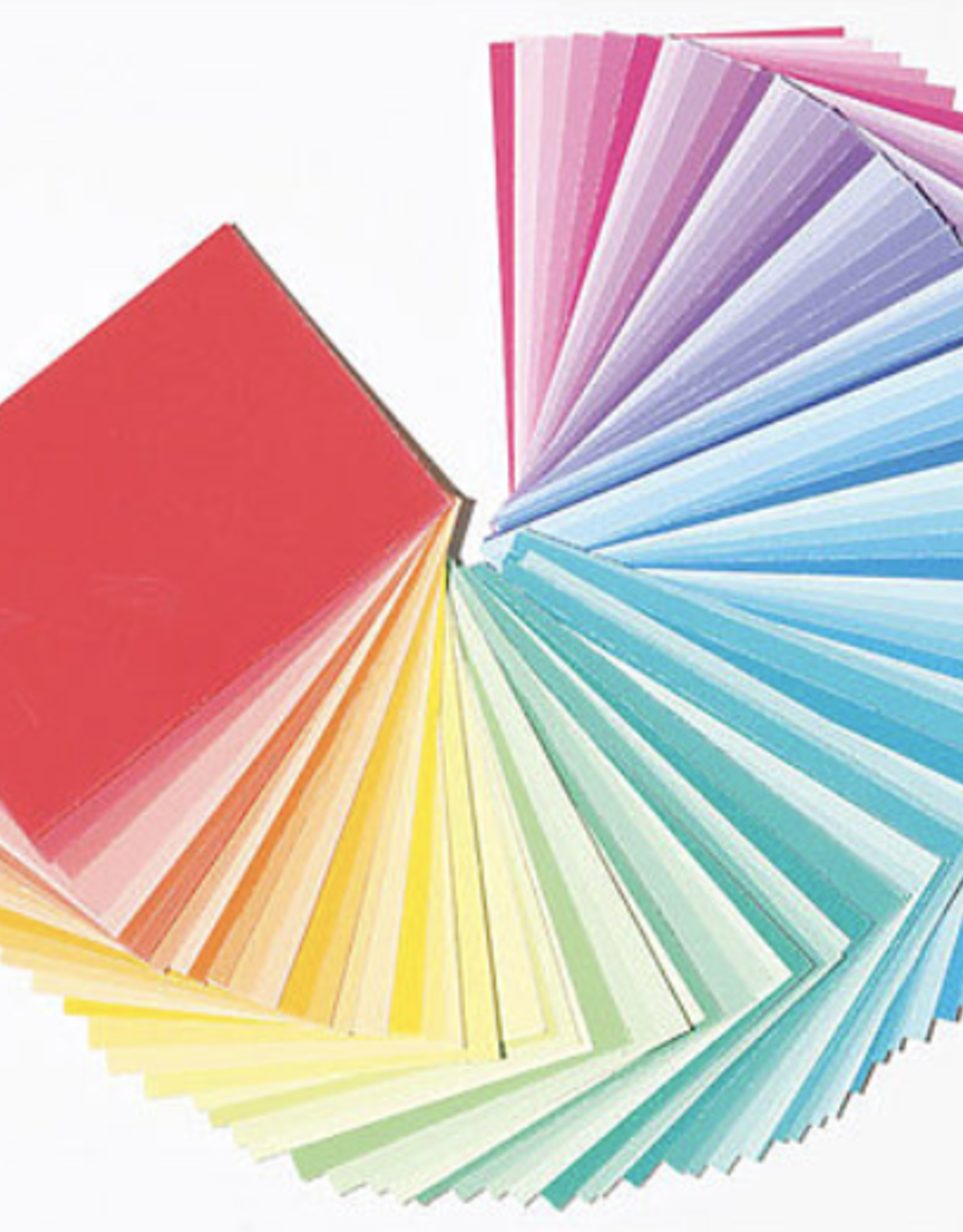 """Color-aid Colored Paper Full Set, 314 Matte Finished 3"""" x 4.5"""" Color Sheets"""