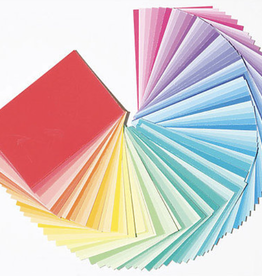 "Color-aid Colored Paper Full Set, 314 Matte Finished 3"" x 4.5"" Color Sheets"