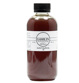 Gamblin, Burnt Plate Oil #2 8.5oz