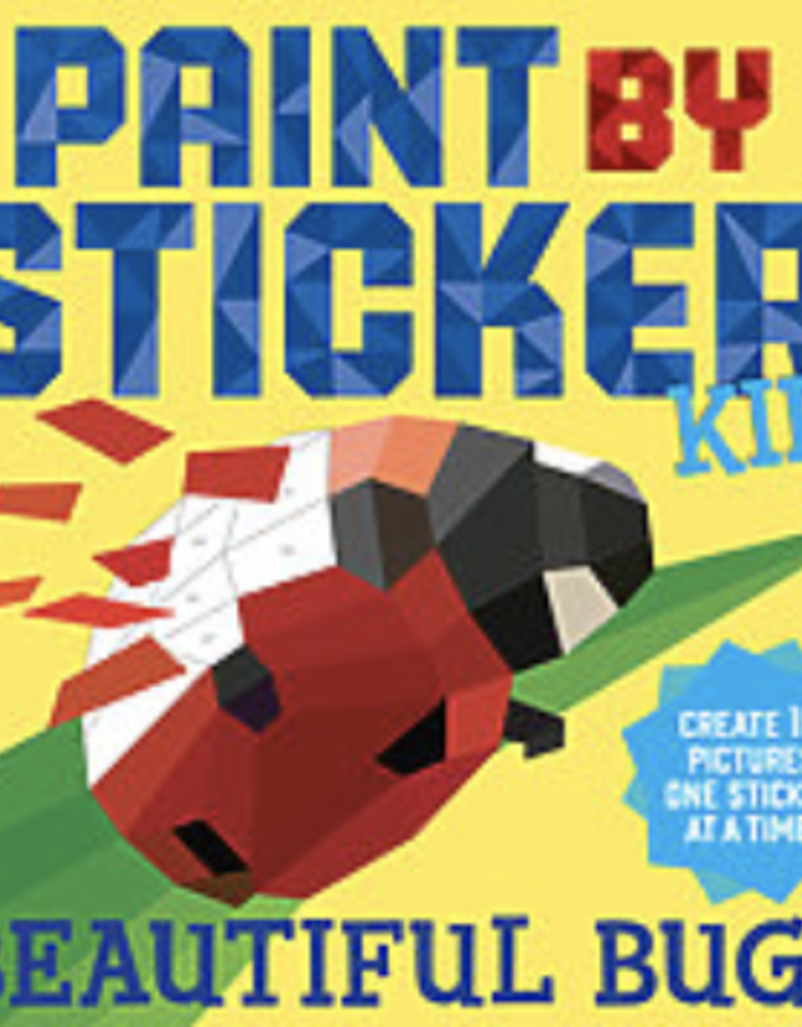 Paint By Sticker, Beautiful Bugs