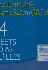 """Spectra Art Tissue, Medium Blue, 20"""" x 30"""", 24 Sheets"""