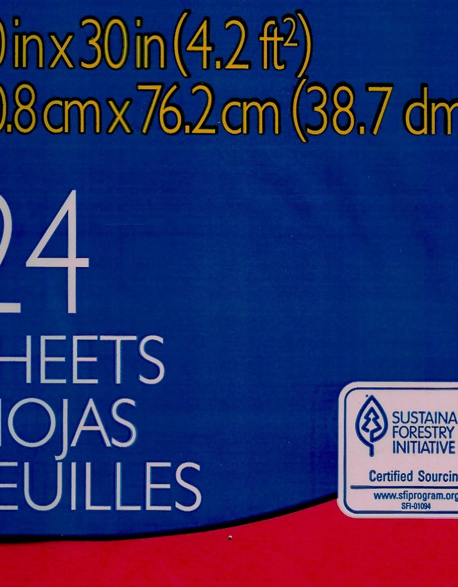 "Spectra Art Tissue, Scarlet, 20"" x 30"", 24 Sheets"