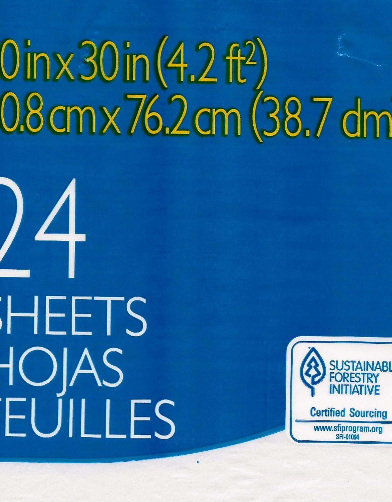 "Spectra Art Tissue, White, 20"" x 30"", 24 Sheets"