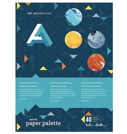 "Disposable Paper Palette, White, 12"" x 16"""