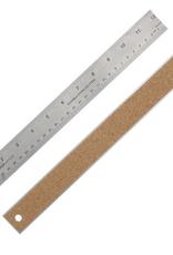 """24"""" Ruler, Stainless Steel, Flex Cork Backed"""