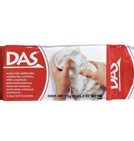 Das Air Hardening Clay, White 1.1lbs