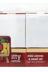 "Mini Canvas & Easel Set 3"" X 3"""