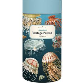 Cavallini Cavallini Vintage Inspired 1,000 Piece Puzzles, Jellyfish