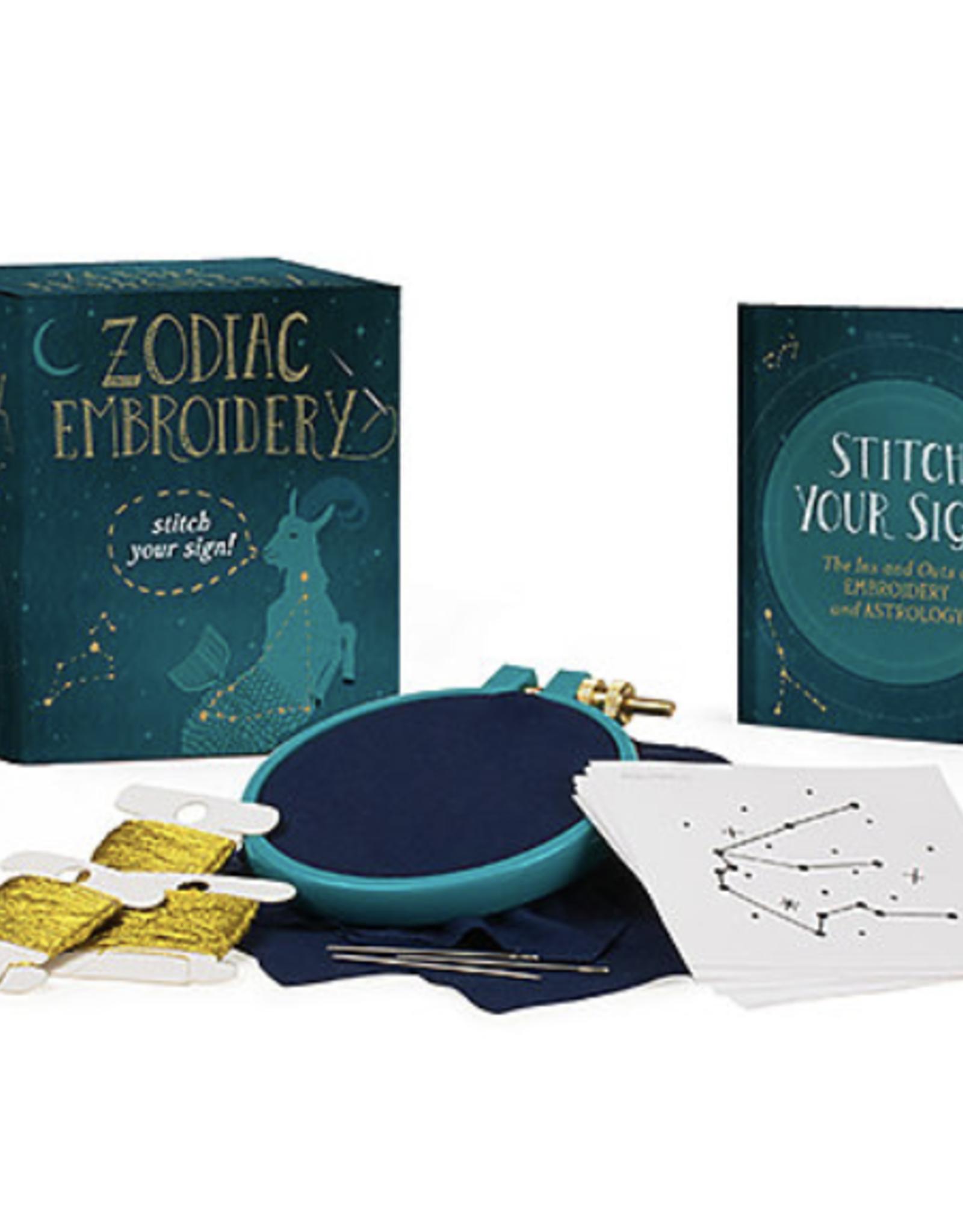 Zodiac Embroidery Kit