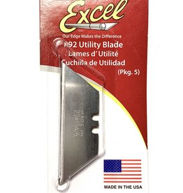 Excel, Utility Blades #92 5 Pack