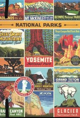 """Cavallini National Parks, Cavallini Lined Notebook Journal, 6"""" x 8"""", 144 pages with Pocket"""