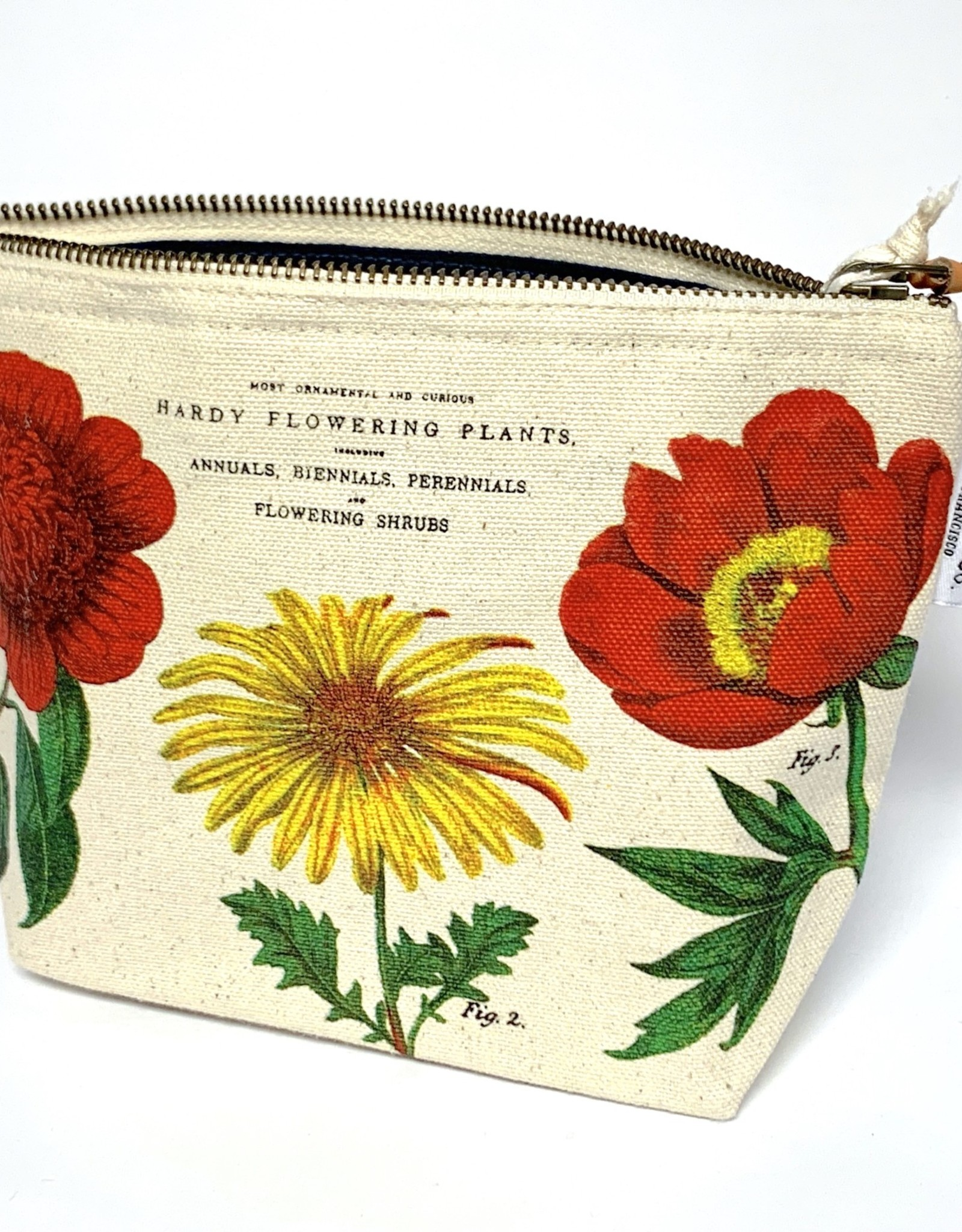 Cavallini Cavallini Vintage Inspired Pouch, Botanica
