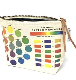 Cavallini Cavallini Vintage Inspired Pouch, Color Wheel