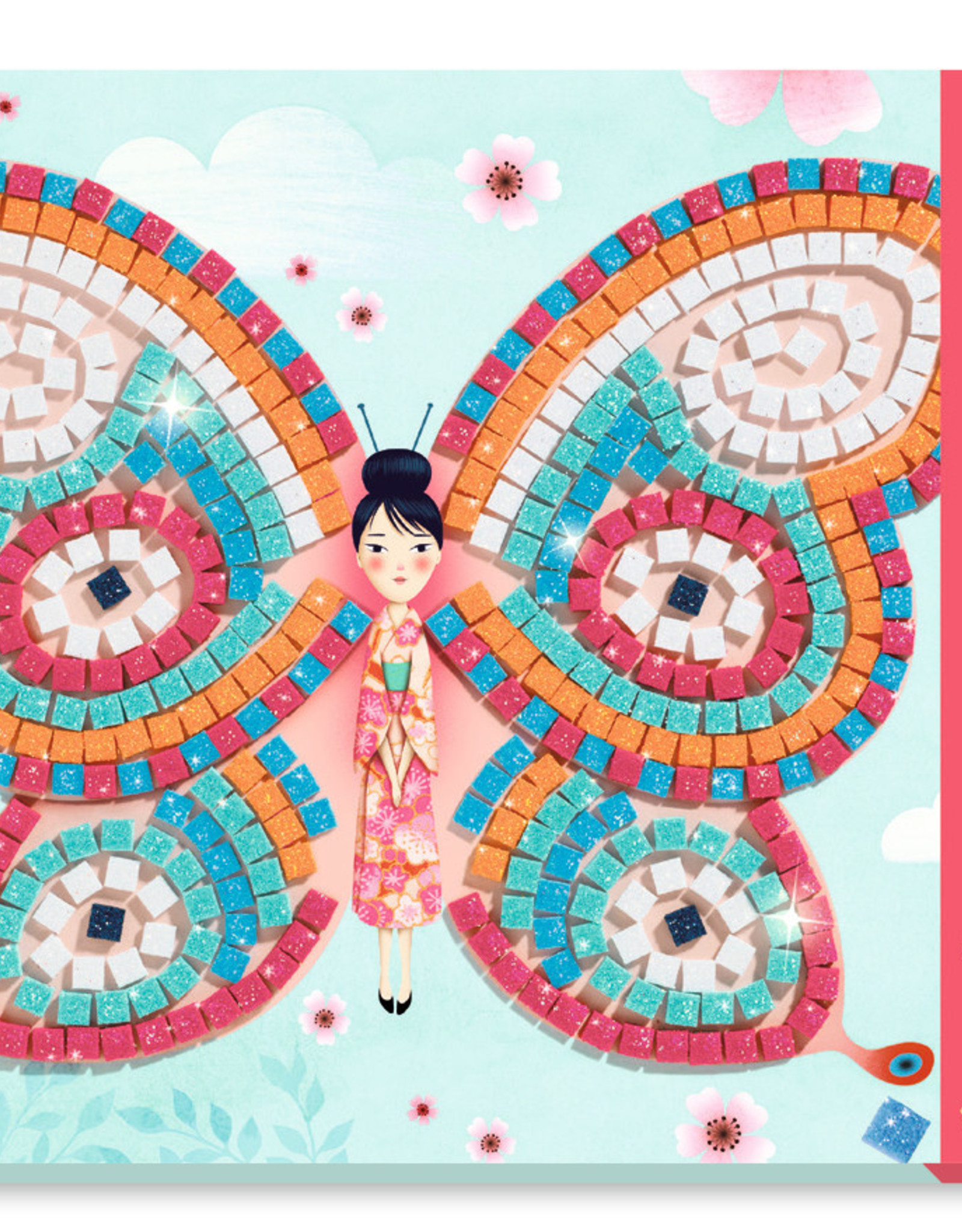 Djeco Butterflies Mosaic Kit