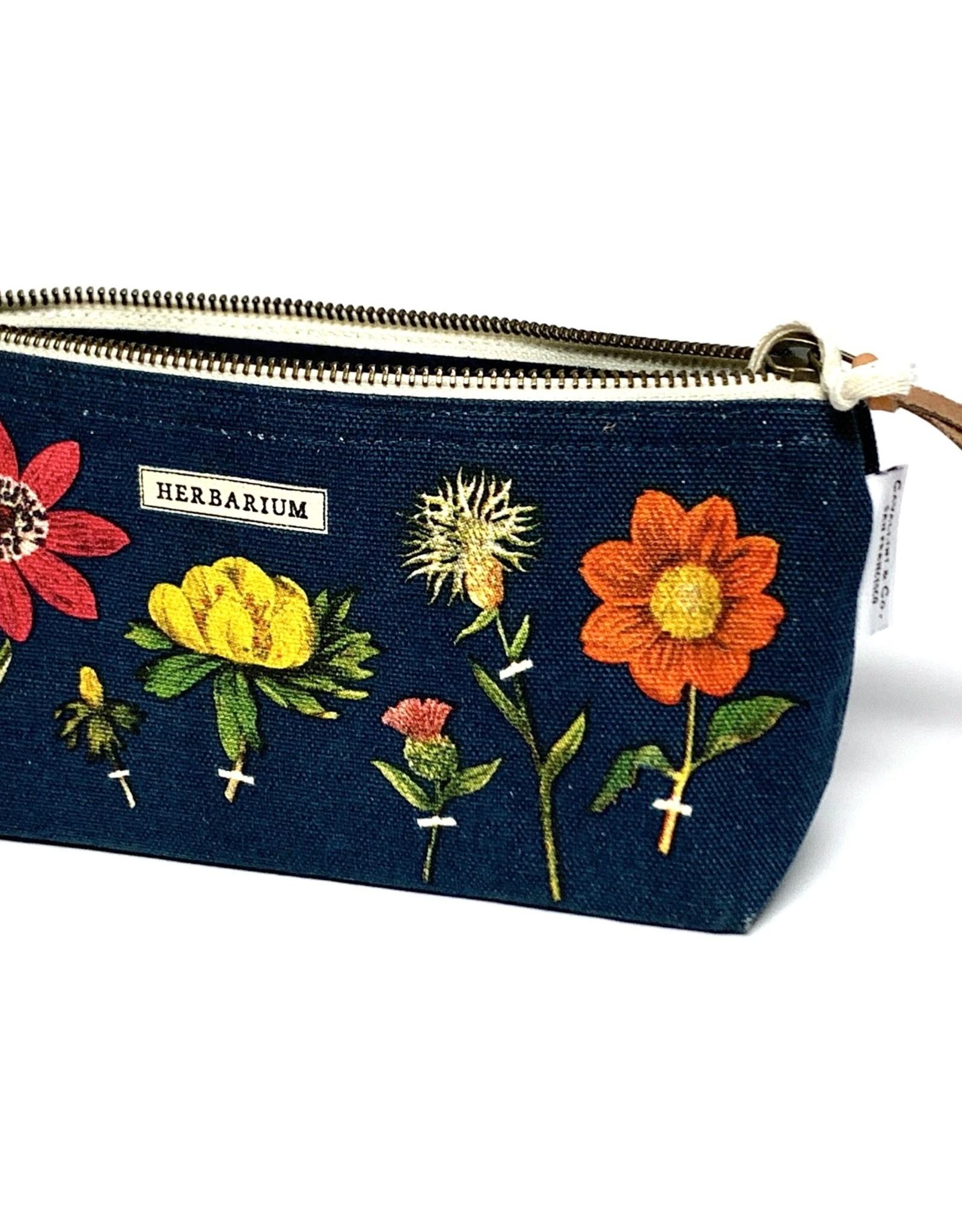 Cavallini Cavallini Vintage Inspired Mini Pouch, Herbarium