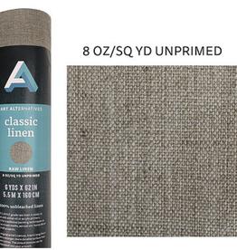 "Canvas Roll Linen, 8oz Unprimed 62"" x 6 yards"